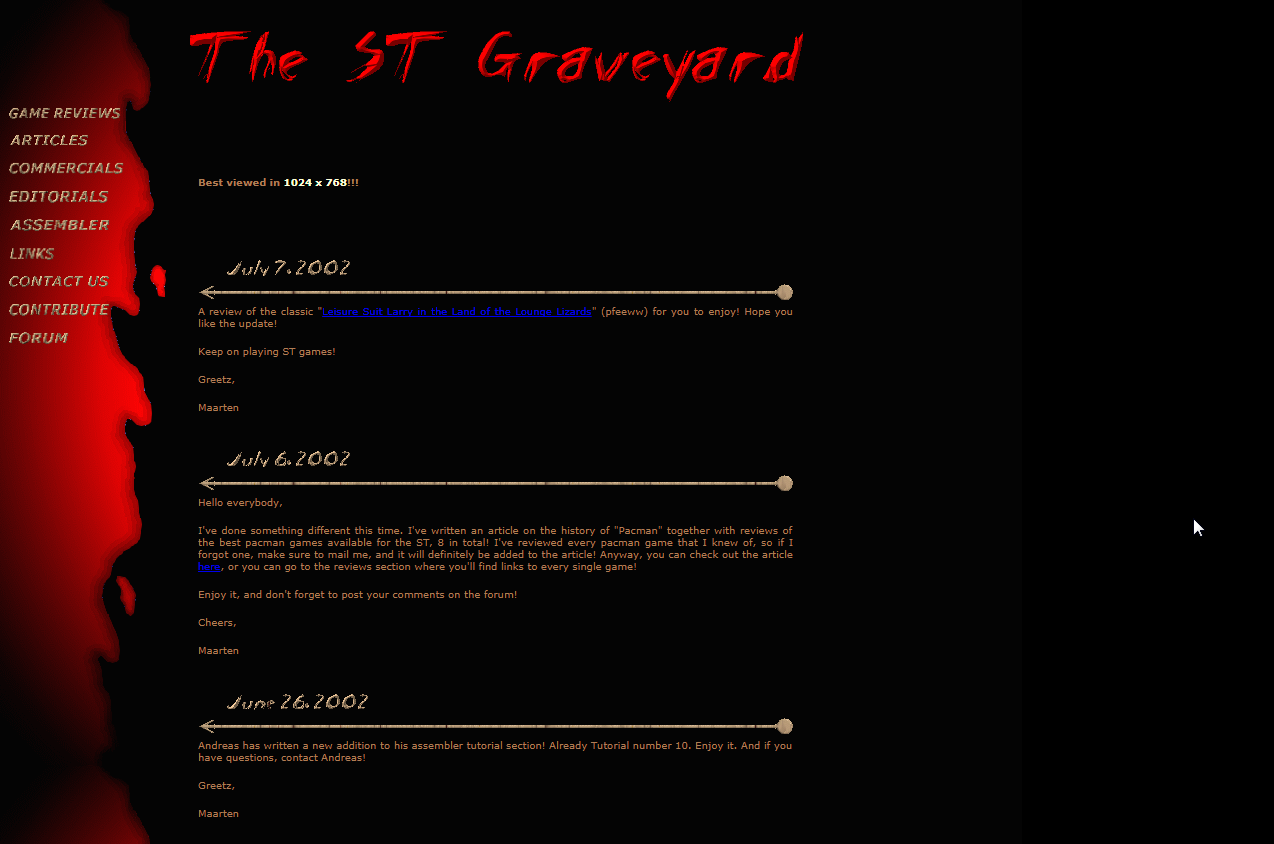 ST Graveyard screenshot
