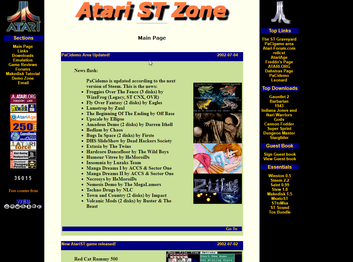 Atarizone screenshot