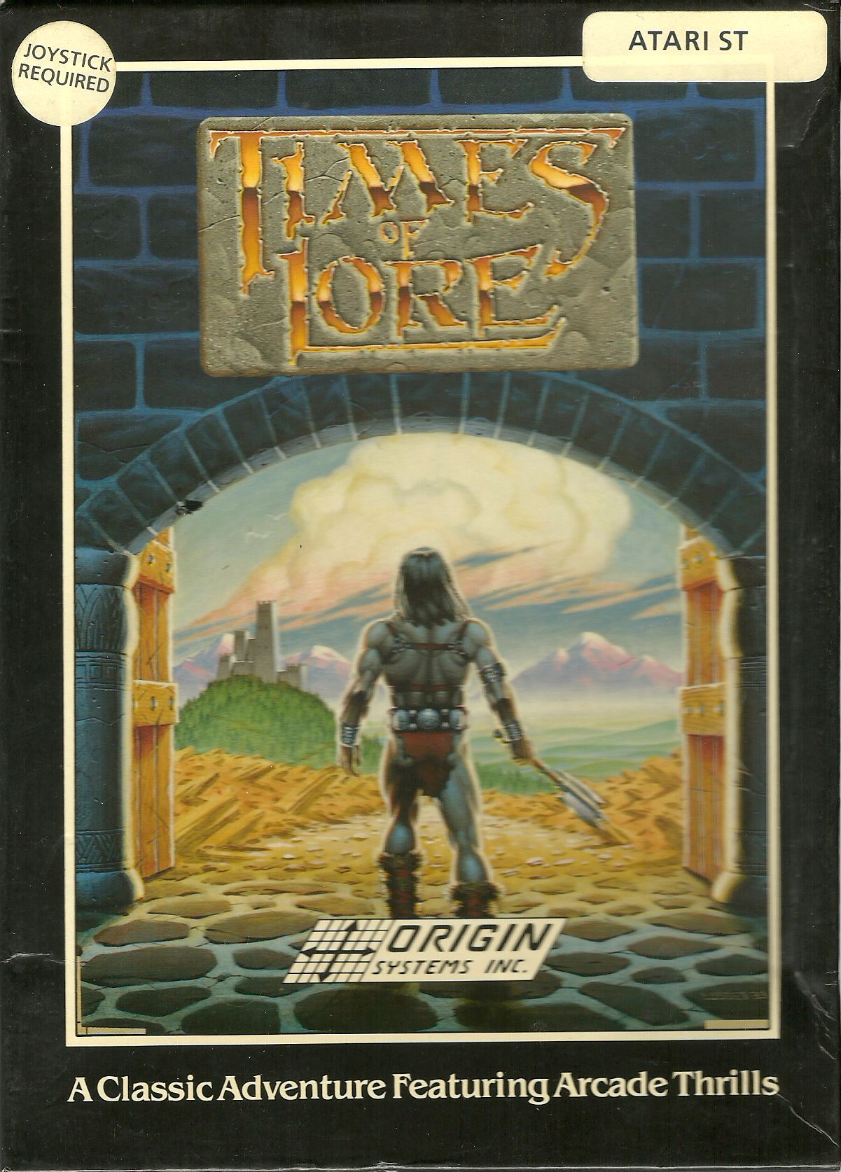 Large scan of the game box