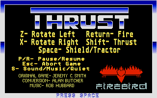 Screenshot of Thrust