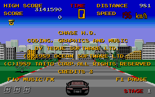 Thumbnail of other screenshot of Chase H.Q.
