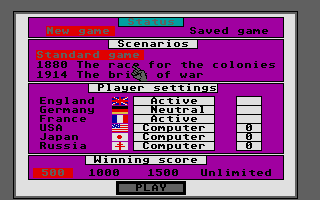 Screenshot of Colonial Conquest