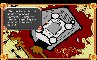 Screenshot of Conquests of Camelot - The Search for the Grail