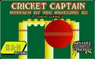 Screenshot of Cricket Captain