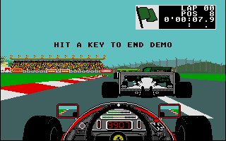 Screenshot of Ferrari Formula One