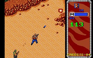 Screenshot of Mercs