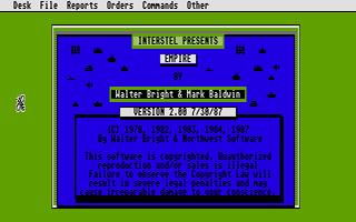 Screenshot of Empire - Wargame of the Century