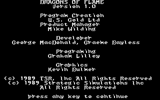 Thumbnail of other screenshot of Dragons of Flame