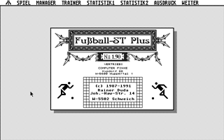 Thumbnail of other screenshot of Fussball ST Plus