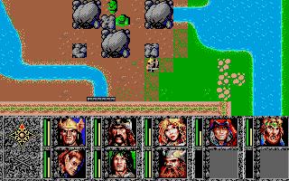 Screenshot of Dragons of Flame