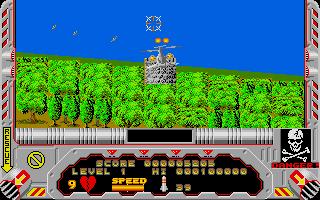 Screenshot of Hellfire Attack