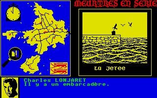 Screenshot of Meurtres En Serie