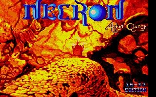 Screenshot of Necron Aptor Quest