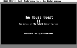 Screenshot of House Quest 2 - The Revenge of the Mutant Killer Tomatoes, The