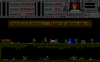 Screenshot of Warlock's Quest