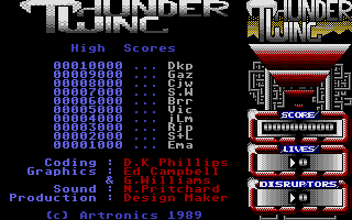 Thumbnail of other screenshot of Thunder Wing