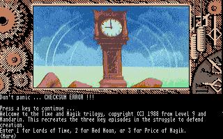Screenshot of Time Machine