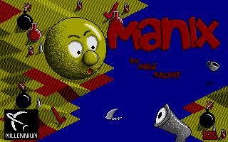 Screenshot of Manix 1990