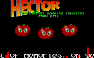 Thumbnail of other screenshot of Hector Vs The Mutant Vampire Tomatoes From Hell