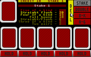 Thumbnail of other screenshot of Poker Machine, The