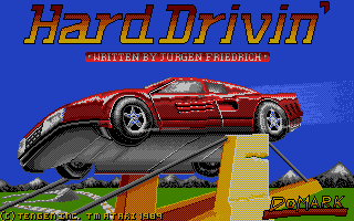 Thumbnail of other screenshot of Hard Drivin'