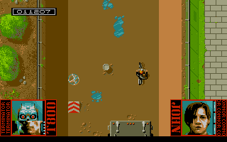 Level 2 : The motor cycle ride through the sewer. The game transforms into a fast paced Major Motion clone!