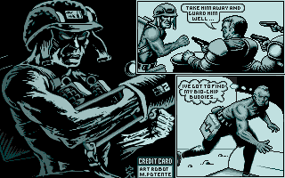 Screenshot of Rogue Trooper