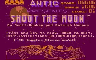 Screenshot of Shoot the Moon