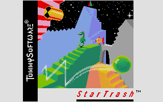 Screenshot of StarTrash