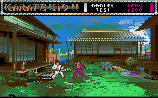Thumbnail of other screenshot of Karate Kid Part 2