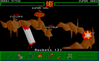 Blood, skulls, fire and ... Bazooka explosions ... This truly is the hell level