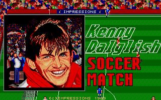 Screenshot of Kenny Dalglish Soccer Match