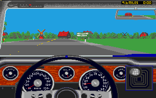 Thumbnail of other screenshot of Test Drive II - European Challenge