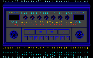 Screenshot of Infinity One