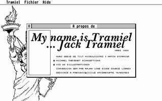 Thumbnail of other screenshot of My Name Is Tramiel... Jack Tramiel