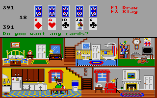 Screenshot of Little Computer people