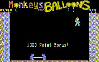 Screenshot of Monkeys & Balloons