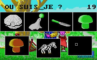 Screenshot of Mémorise