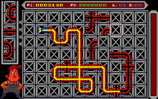 Don' t leave too many unused pipes around the grid, each one will subtract 100 points from our score !
