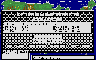 Screenshot of Capital! The Game of Finance
