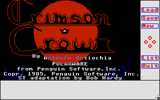 Screenshot of Crimson Crown