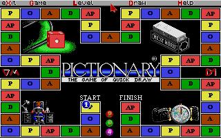 Screenshot of Pictionary