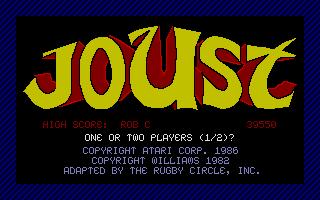 Screenshot of Joust