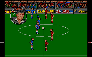 Screenshot of Peter Beardsley's International Football