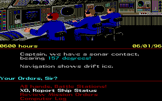 Screenshot of Red Storm Rising