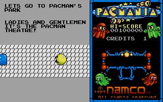 Let's go to pacman's parc