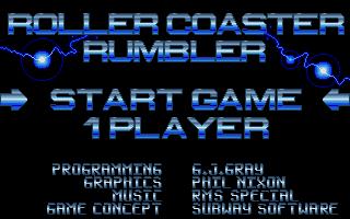 Thumbnail of other screenshot of Roller Coaster Rumbler