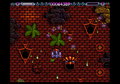 Huge sprites move smooth and flicker free all over the screen.