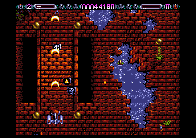 This is the first level. The game starts really hot. This won't be an easy trip!