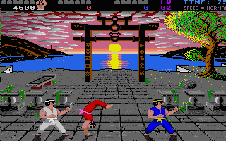 IK+ is the only game to feature 3 fighters simultaneously in a match...